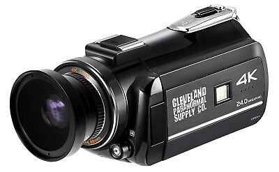 4K Ultra HD Infrared Night Vision / Full Spectrum Camcorder Ghost Hunting Camera