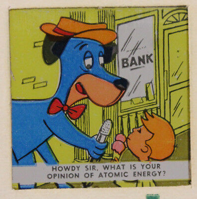 Hana-Barbera 1963 Cartoon Slide Strips (11), Huckleberry Hound, Yogi Bear More