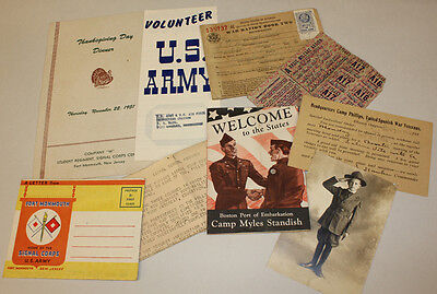 Military Paper Lot, 1916 to 1950s