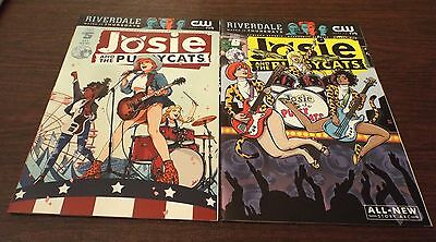 Josie and The Pussycats (2016 Archie) #5A AND #6B - LOT OF 2 - NEW