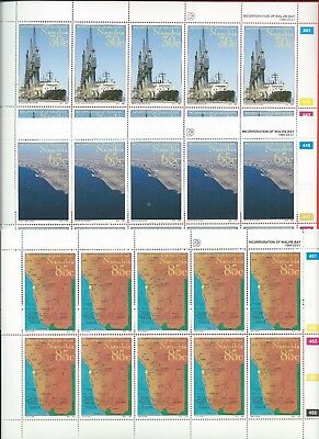 Namibia stamps. 1994 Walvis Bay set in sheets MNH (A234)