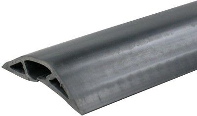 Legrand Wiremold Corduct 5 ft. 1-Channel Over-Floor Cord Protector-Black Corduct