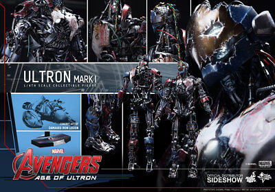 1/6 Hot Toys SIDESHOW MARVEL AVENGERS: AGE OF ULTRON MARK I MMS292