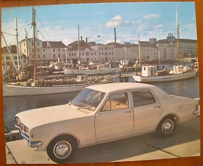 HT  HOLDEN  KINGSWOOD  1969  PICTURE  CARD  No 12  HOBART TASMANIA  RARE.