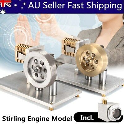 Powerful Hot Air Stirling Engine Flame Eater Lick Vacuum Motor Model Toy Gift