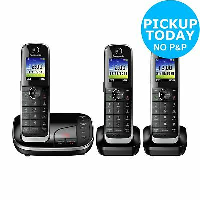 Panasonic KX-TGJ323 1.8 Inch LCD Cordless Telephone with Answer Machine - Argos