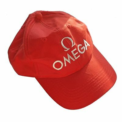 Omega Base Cup - Kappe Rot / One Size Fits All - Grössenverstellbar Neu / Ungebr