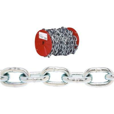"""65' Steel Zinc Plated 1/4"""" Load Binding Logging Towing Proof Coil Chain 0722127"""