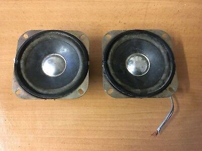 Honda GoldWing GL1200 1985 Pair Of Genuine 8W Speakers EAS-10P166SE
