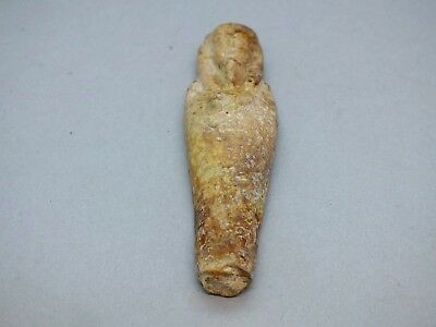 Egyptian Late Dynastic Period Ushabti circa 6th to 3rd Century BC
