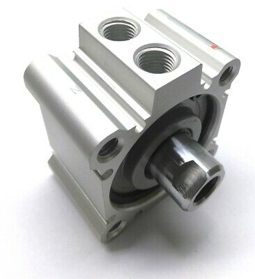 New SMC NCQ2A50-10DZ Compact Cylinder, 10mm Travel, 50mm Bore, Double Acting