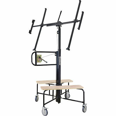 Strongway Drywall Panel Hoist -150-Lb. Capacity, 11ft. Lift