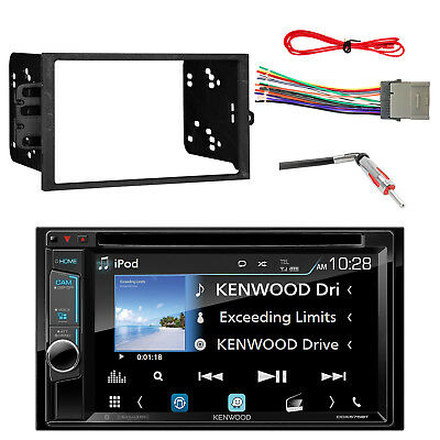 DDX575BH DVD Receiver w/  Double-DIN Dash Kit, Antenna Adapter & Wiring Harness