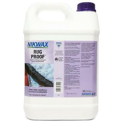 New Nikwax Rug Proofer 5 Litre Fabric Washing Treatment Assorted