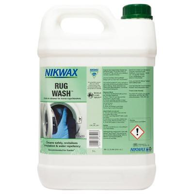New Nikwax Rug Wash 5 Litre Fabric Washing Treatment Assorted