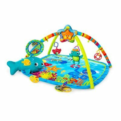 58cc28e9b BABY EINSTEIN NAUTICAL Friends Play Mat Gym w  Motion Lights Music ...