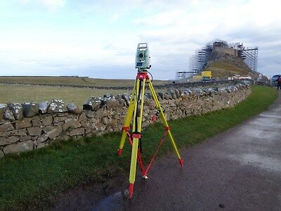 Redsretros surveyors security system, for Total station tripod, survey essential