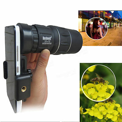 Smartphone Hiking Concert Camera Lens Telescope Monocular With Universal Clip