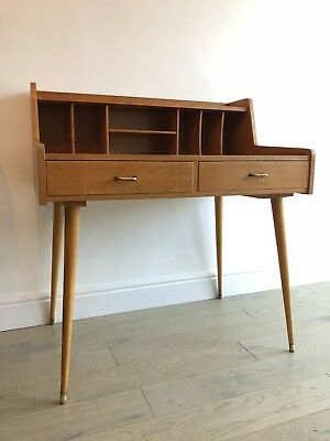 Mid Century Vintage Writing Desk