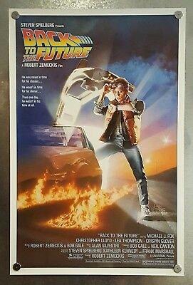 Back to the Future 1985 Original 27 X 41 1SHT Rolled Movie Poster Drew Struzan