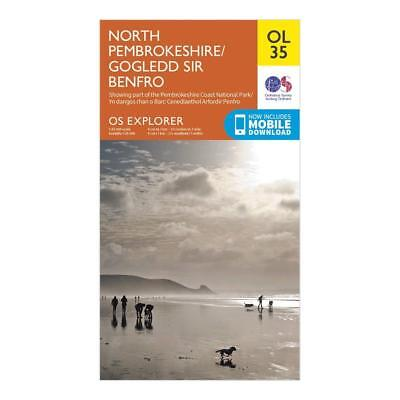 New Os Explorer Ol35 North Pembrokeshire Map Walking Hiking Guide