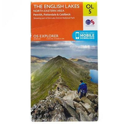 New Os Explorer Ol5 The English Lakes North Eastern Area Map Guide
