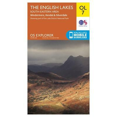 New OS OL 7 Explorer The Lake District: South-eastern area Map