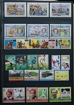 all UNMOUNTED MINT - ST LUCIA to $2.50, GRENADA, TUVALU