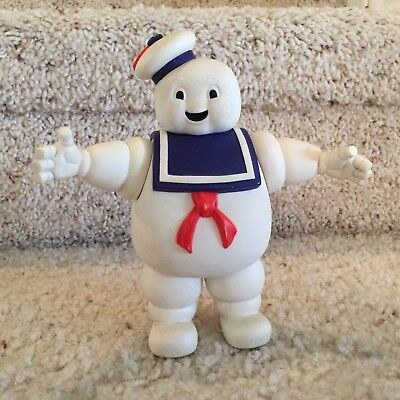 Vintage 1984 Ghostbusters Stay Puft Marshmallow Man Plastic Action Figure Toy
