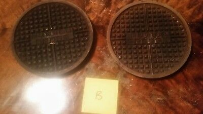 """Waffle House waffle iron plates 7 5/8"""" official RARE! L@@K"""