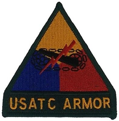Us Army Training Center Usatc Armor Patch Fort Ft Knox Kentucky Tanker