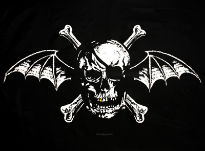 Avenged Sevenfold Death Bat Cloth Fabric Poster Flag
