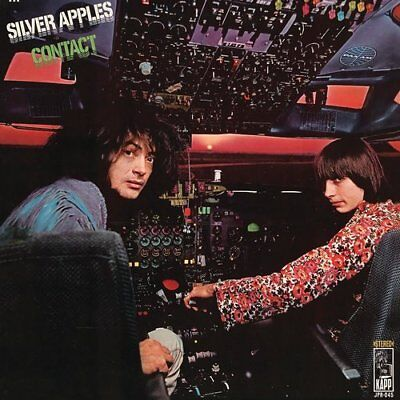 "Silver Apples - "" Contact"" 1969 NEW SEALED COLORED VINYL LP - Jackpot Records"