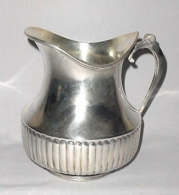 Old Silverplate Christofle Cc Hallmarks Water Jar Juice Pitcher Jug 5.60""