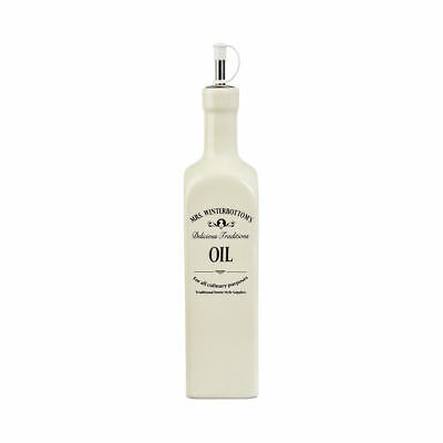 BUTLERS MRS WINTERBOTTOMS Ölflasche 600 ml Beige