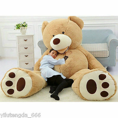 200cm Super Huge bear(only Cover) Plush Toy Shell (with Zipper) 78'' Gift