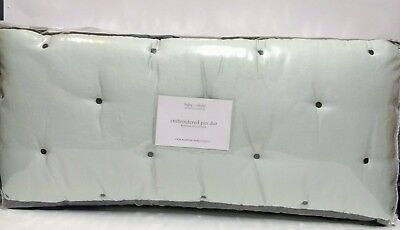 Restoration Hardware Baby&Child Embroidered Pin Dot Crib Bumper ~ 2007 ~ NEW