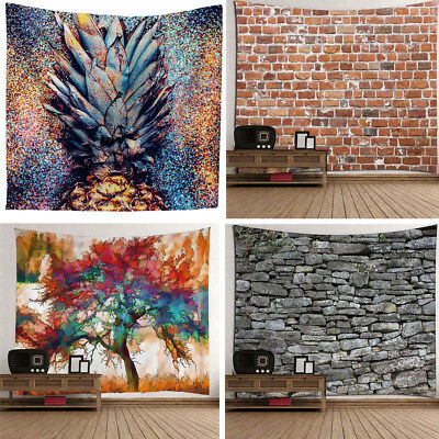 Wall Hanging Tapestry Art Abstract Planet Psychedelic Bedroom Home Decor AU