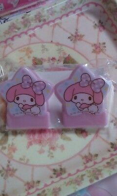 Sanrio My Melody too cute ♡ Clips 2 sets  RARE NEW from Japan