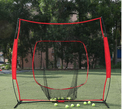 Sports Exercise Baseball Softball Tball Training Practice Net Batting Cage