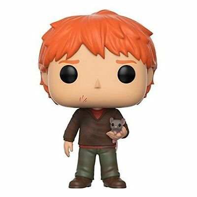 Funko Pop Movies: Harry Potter-Ron Weasley W/scabbers Toy Toys Brand New