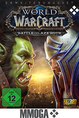 World of Warcraft Battle for Azeroth Code - WoW Add-On Key Vorverkauf PC - DE/EU
