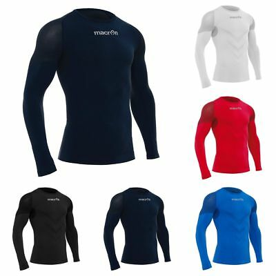 BASELAYER THERMAL UNDERWEAR SHIRT LS PERFORMANCE++ MACRON - Sizes from S to 3XL
