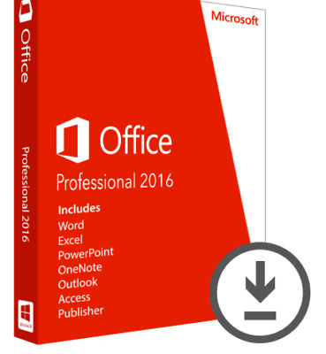 Microsoft Office Professional 2016 Product Key - Lifetime Subscription