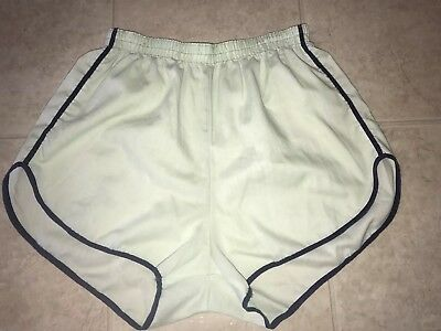 Vintage Men's Light Green Thin Shorts 1970's 1980's Boxer Casual Lounge ~ XL