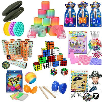 Kids Childrens Birthday Party Bag Fillers Toys Boys Girls Wedding Loot Stocking