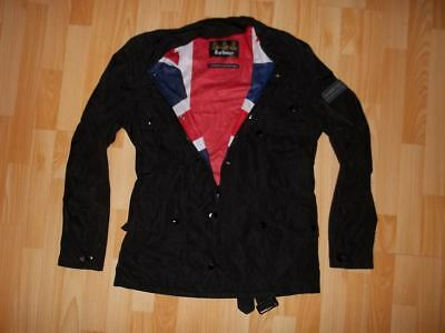 Men's BARBOUR INTERNATIONAL MEMORY UNION JACK INTERNATIONAL JACKET SIZE M MEDIUM