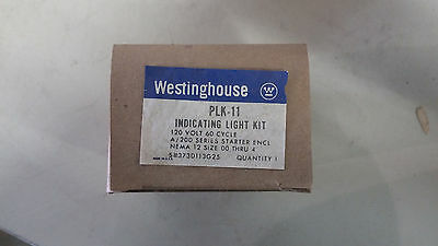 Westinghouse Plk-11 New In Box Indicating Light Kit See Pics #a57