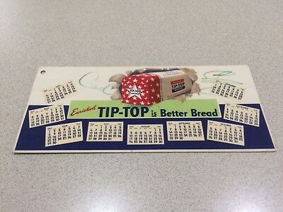 Ward's Tip Top Bread Calendar 1947 Blotter