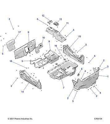 Park Brake Polaris Rzr Xp1000 Transport Street Legal Compliant